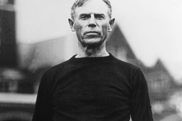 A portrait of John Heisman