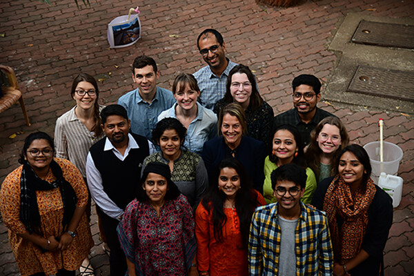 Rising Waters fellows in Mumbai in January