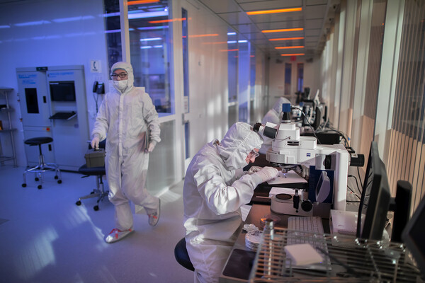 researchers in the singh nano labs