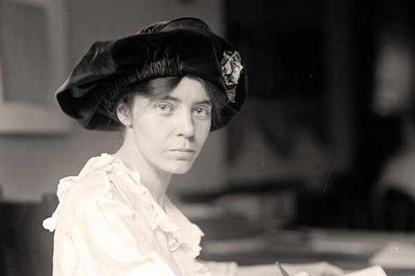 historical image of Alice Paul