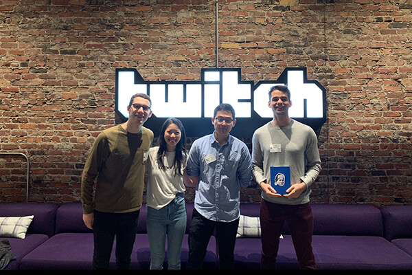 Wharton students at Twitch