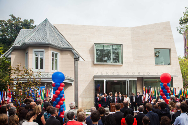 grand opening of perry world house