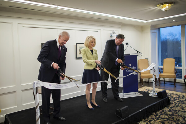 Penn Biden Center in Washington Ribbon Cutting